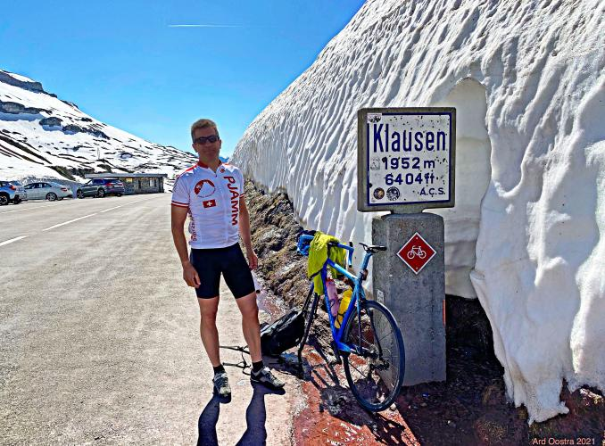 Klausenpass West Bike Climb - PJAMM Cycling