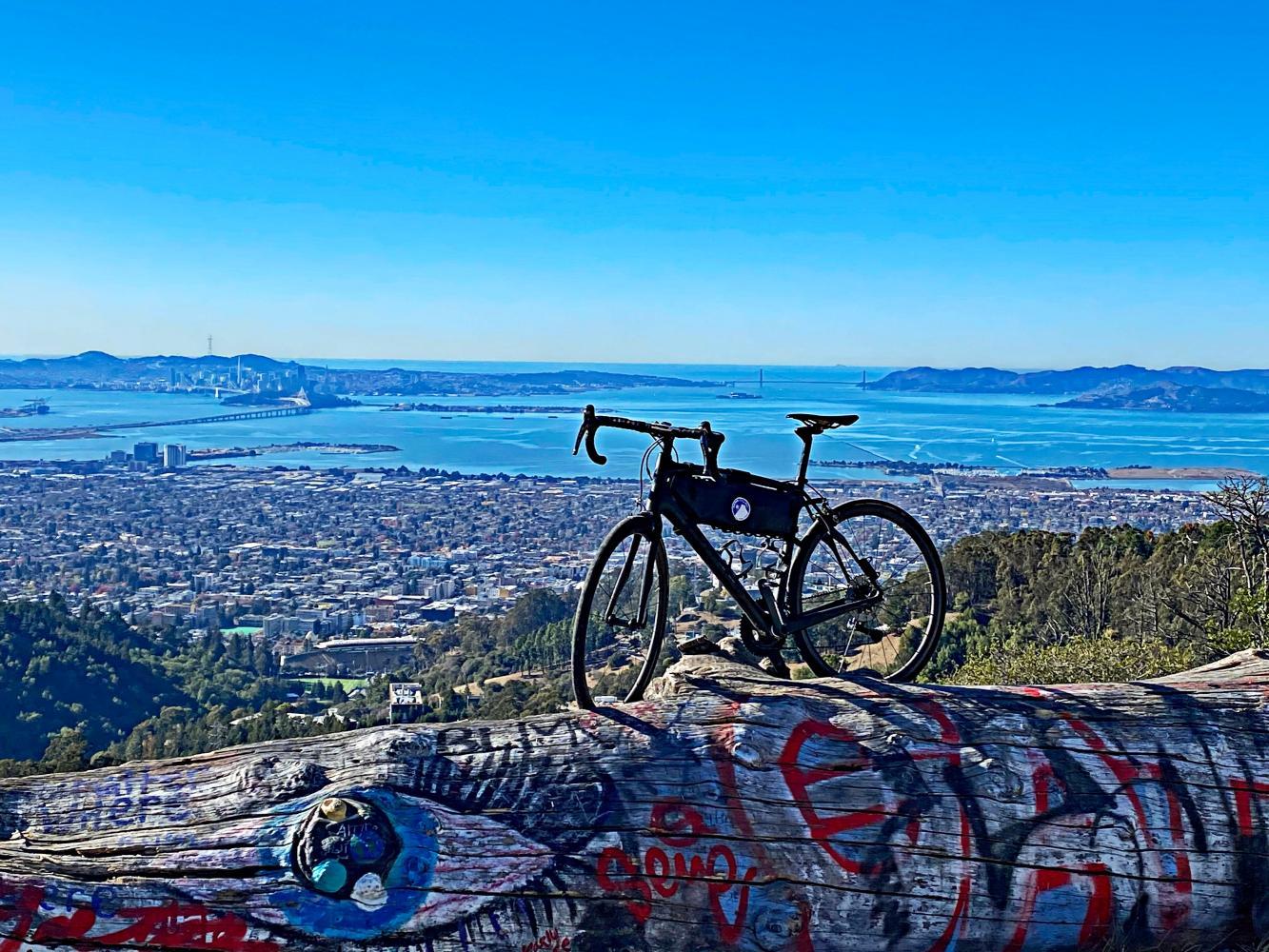 Claremont to Grizzly Peak Bike Climb - PJAMM Cycling