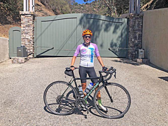 Mandeville Canyon Bike Climb - PJAMM Cycling