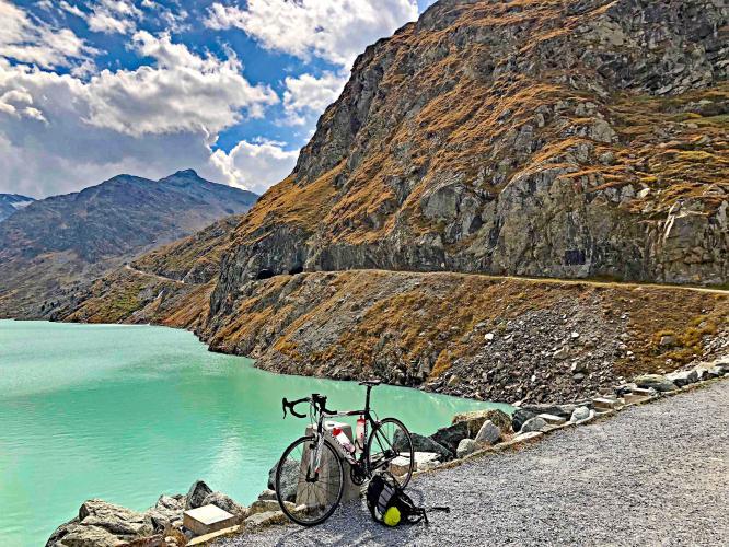 Mattmark Bike Climb - PJAMM Cycling