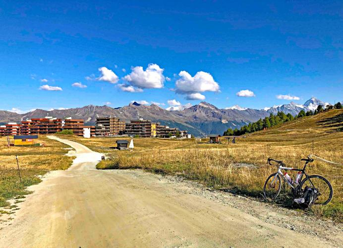 Thyon 2000 Backside Bike Climb - PJAMM Cycling