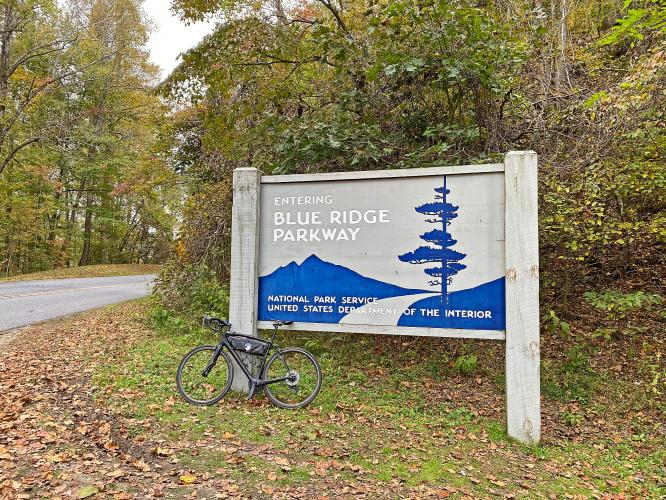 Blue Ridge Parkway North (entire route) Bike Climb - PJAMM Cycling