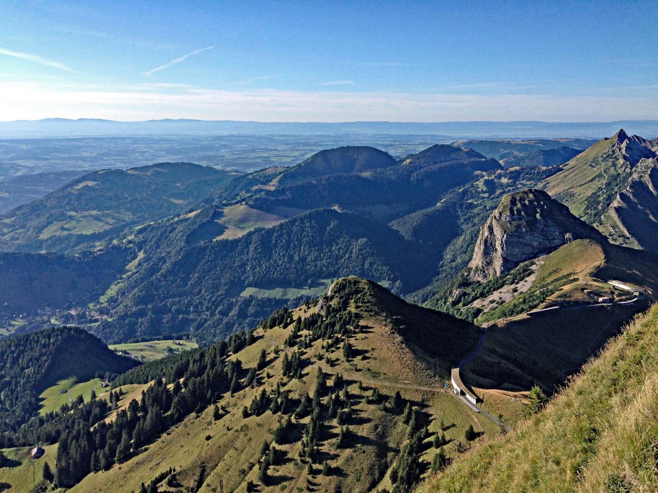 Sonchaux + Rochers de Naye hike Bike Climb - PJAMM Cycling