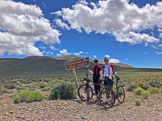 Emigrant Pass East Bike Climb - PJAMM Cycling