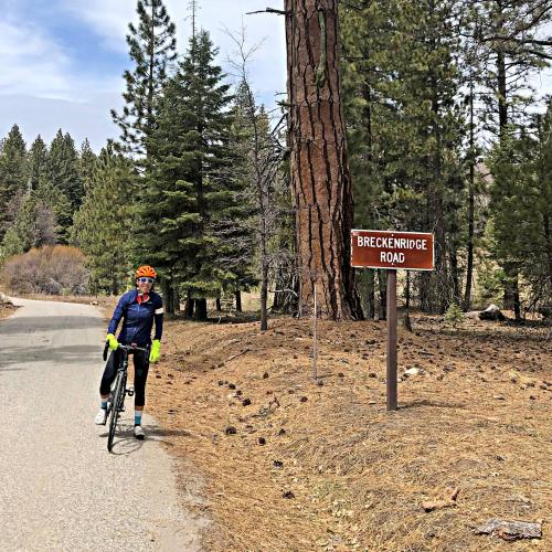 Breckenridge Road West Bike Climb - PJAMM Cycling