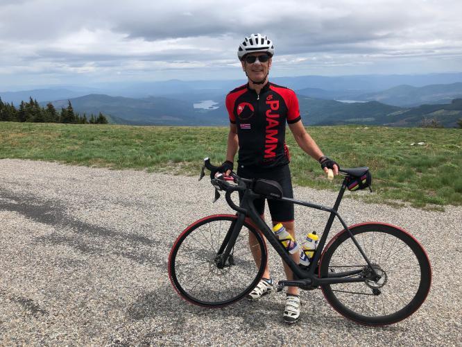Mt. Spokane Bike Climb - PJAMM Cycling