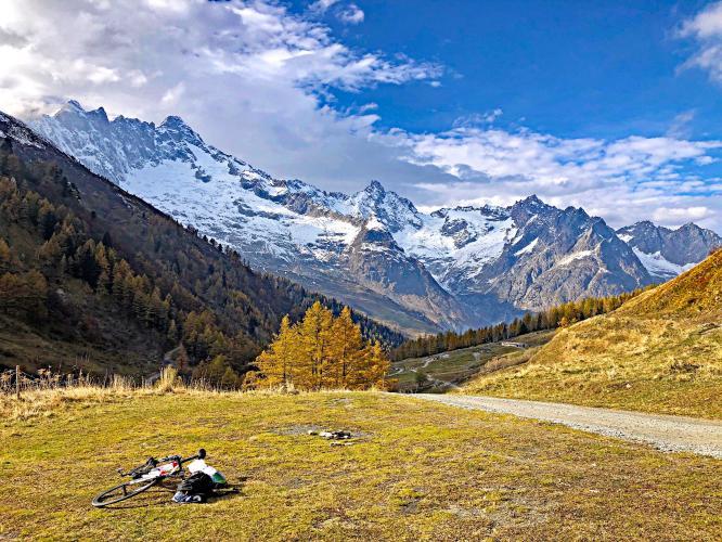 Val Ferret Bike Climb - PJAMM Cycling