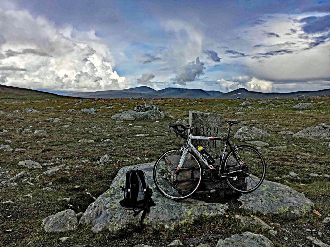 Valdresflya North Bike Climb - PJAMM Cycling