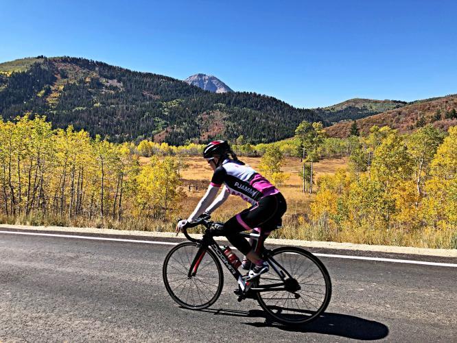 Cascade Springs Bike Climb - PJAMM Cycling