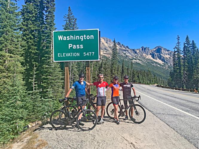 Washington Pass West (North Cascade Hwy) Bike Climb - PJAMM Cycling