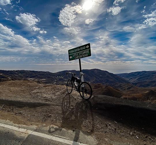 Decker and Little Sycamore Roads Bike Climb - PJAMM Cycling