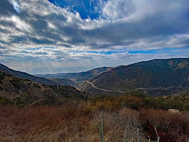 Malibu Canyon to Piuma Peak Bike Climb - PJAMM Cycling