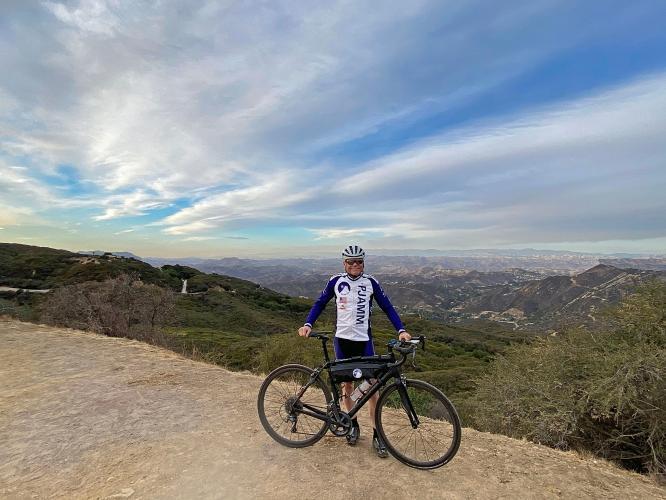 Las Flores to Stunt Road Bike Climb - PJAMM Cycling