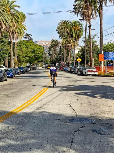 Hollywood Sign Bike Ride Bike Climb - PJAMM Cycling