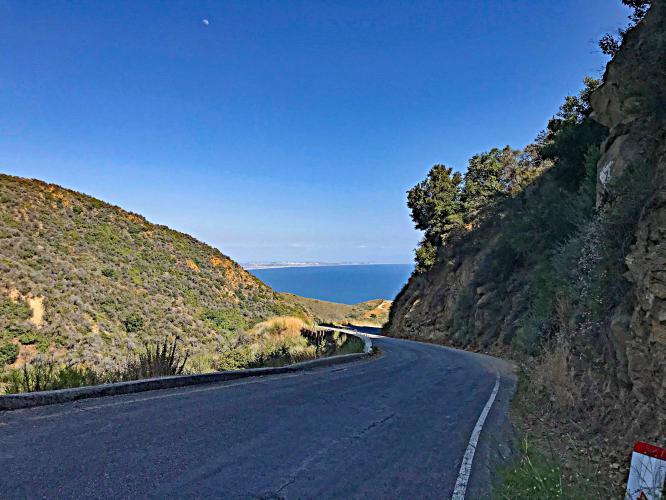 Tuna Canyon from PCH Bike Climb - PJAMM Cycling