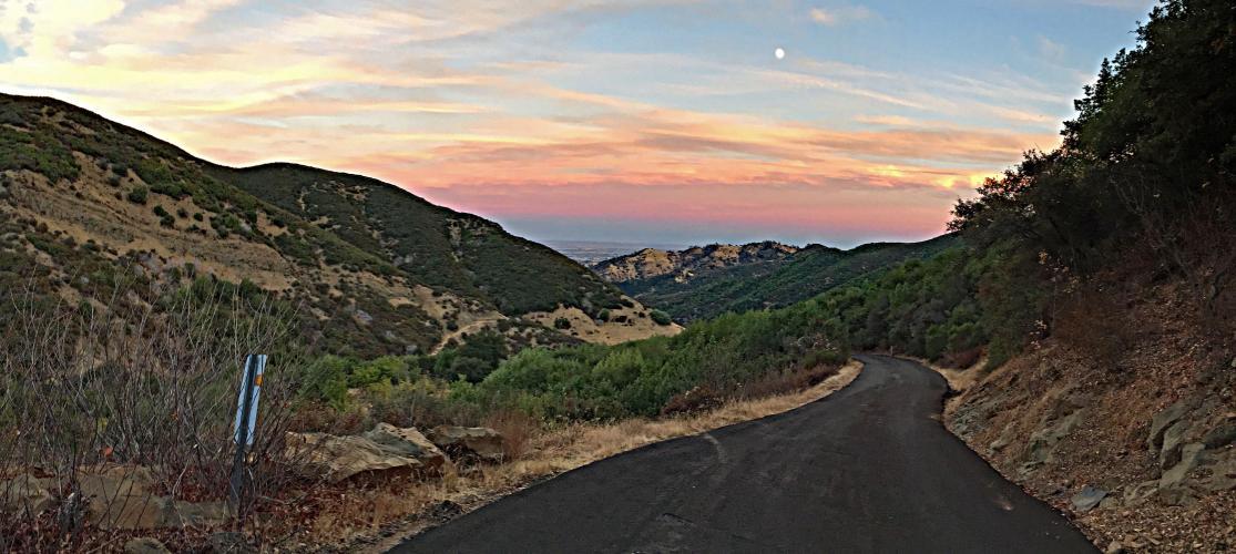 Mix Canyon Bike Climb - PJAMM Cycling