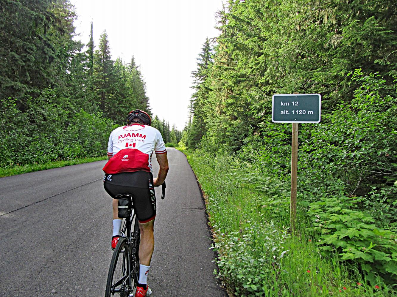 Mt. Revelstoke Bike Climb - PJAMM Cycling