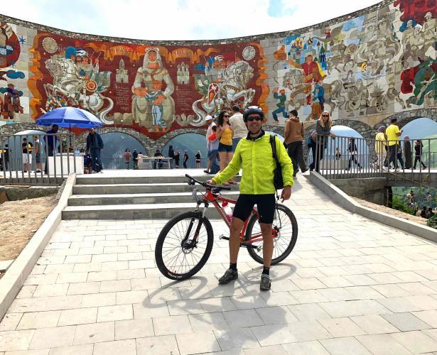 Djvaris Ughelt Bike Climb - PJAMM Cycling