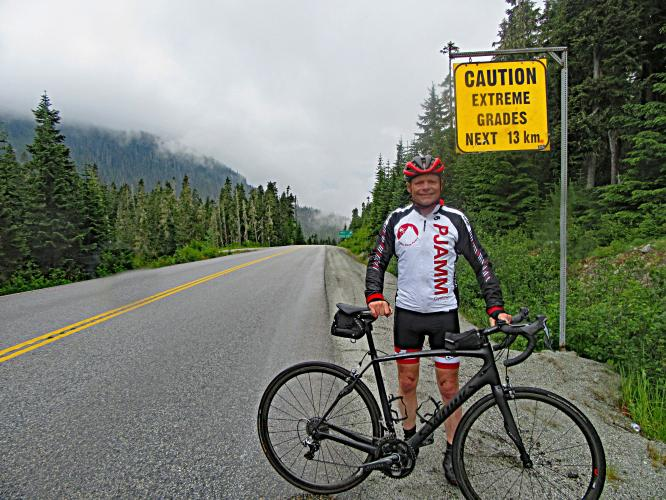 Cayoosh Pass Bike Climb - PJAMM Cycling