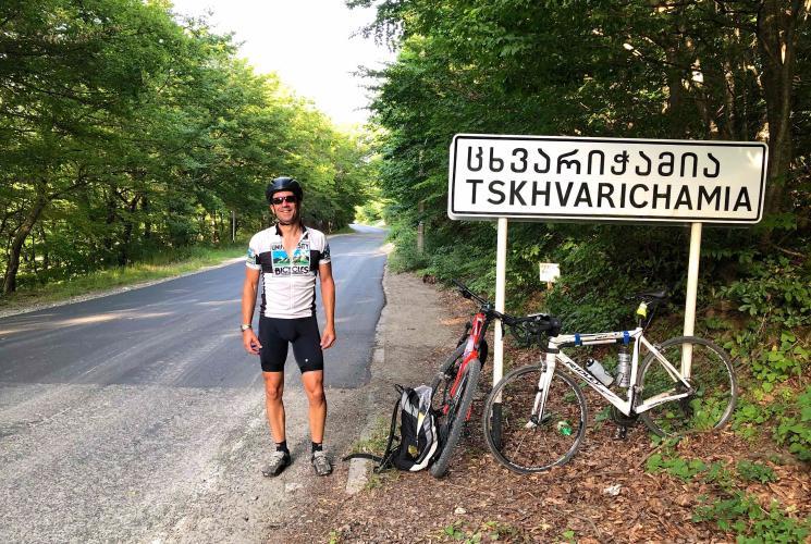 Tskhvarichamia Bike Climb - PJAMM Cycling