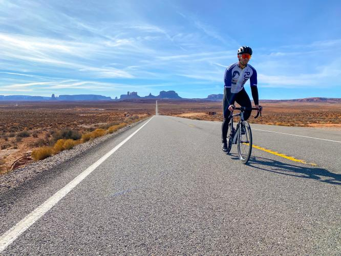 Forrest Gump Hill Bike Climb - PJAMM Cycling