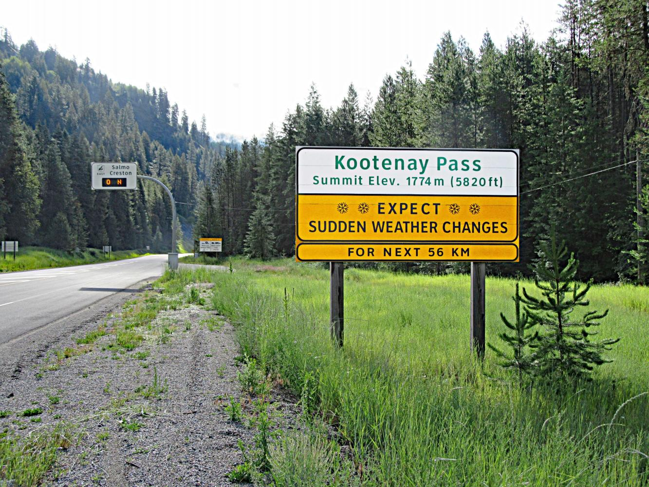 Kootenay Pass West Bike Climb - PJAMM Cycling