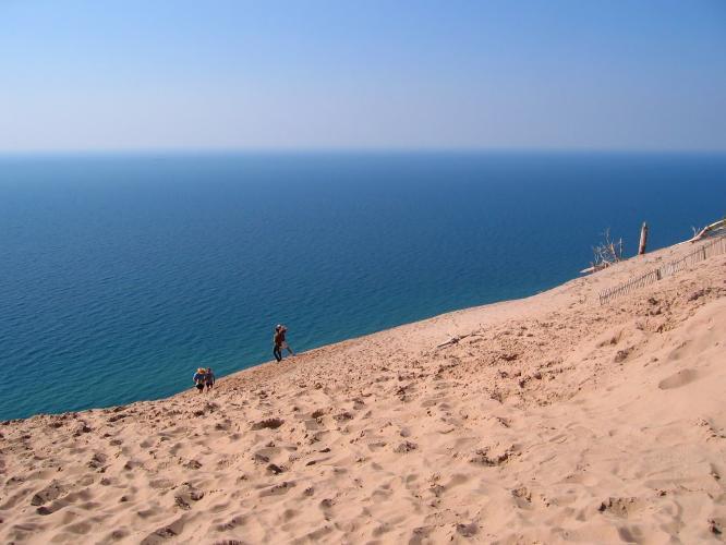 Sleeping Bear Dune Bike Climb - PJAMM Cycling