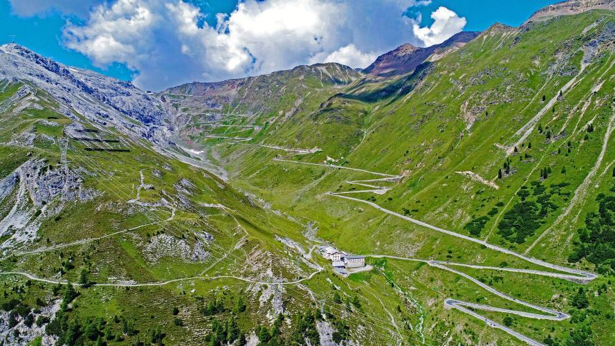 Passo dello Stelvio (Prato Allo Stelvio) Bike Climb - PJAMM Cycling