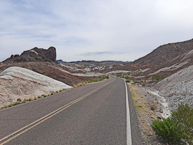 Ross Maxwell Scenic Drive Bike Climb - PJAMM Cycling