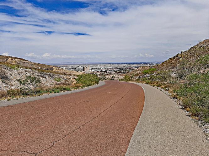 McKelligon Canyon Rd Bike Climb - PJAMM Cycling
