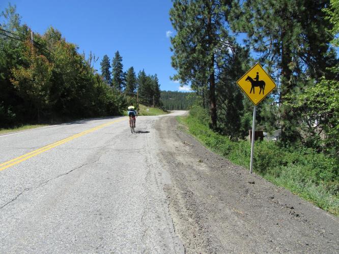 Crystal Mountain Bike Climb - PJAMM Cycling