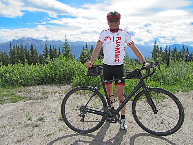 Marmot Basin Hill Bike Climb - PJAMM Cycling