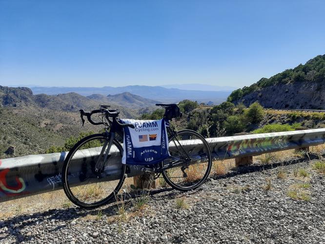 AZ State Road 78 Bike Climb - PJAMM Cycling
