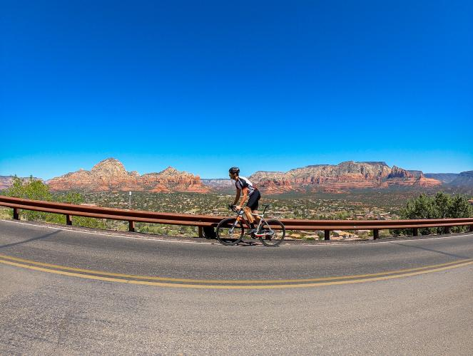 Sedona Airport Bike Climb - PJAMM Cycling
