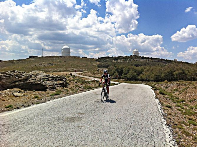 Calar Alto Bike Climb - PJAMM Cycling
