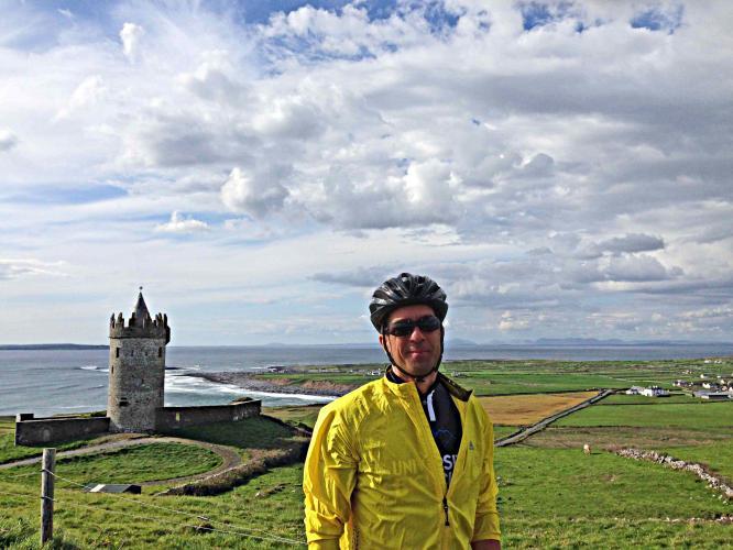 Ciffs of Moher North Bike Climb - PJAMM Cycling