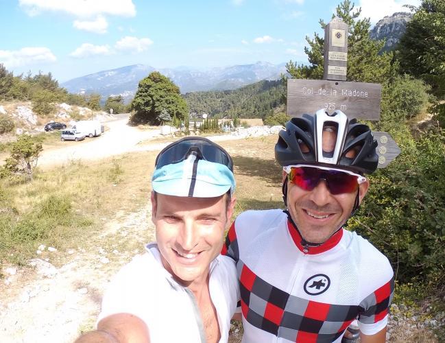 Col de la Madone Bike Climb - PJAMM Cycling