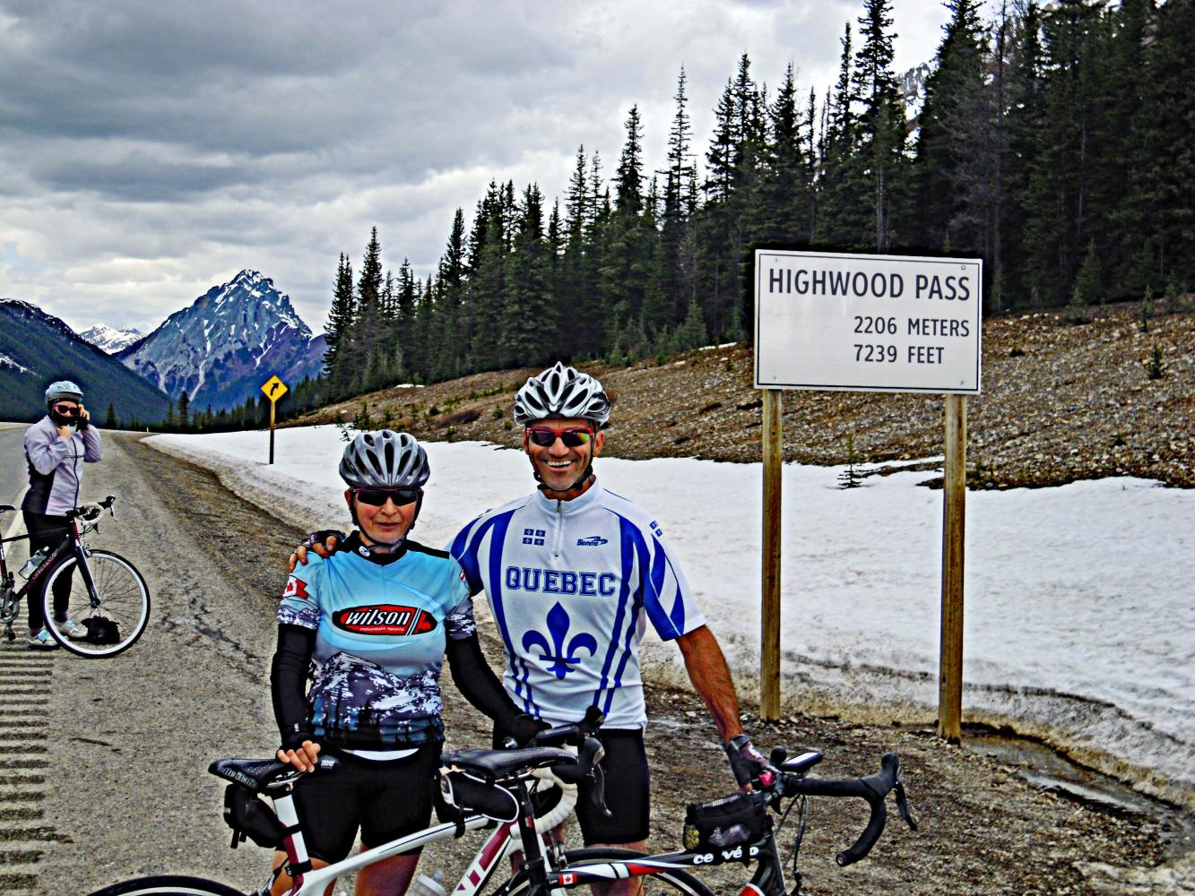 Highwood Pass North Bike Climb - PJAMM Cycling