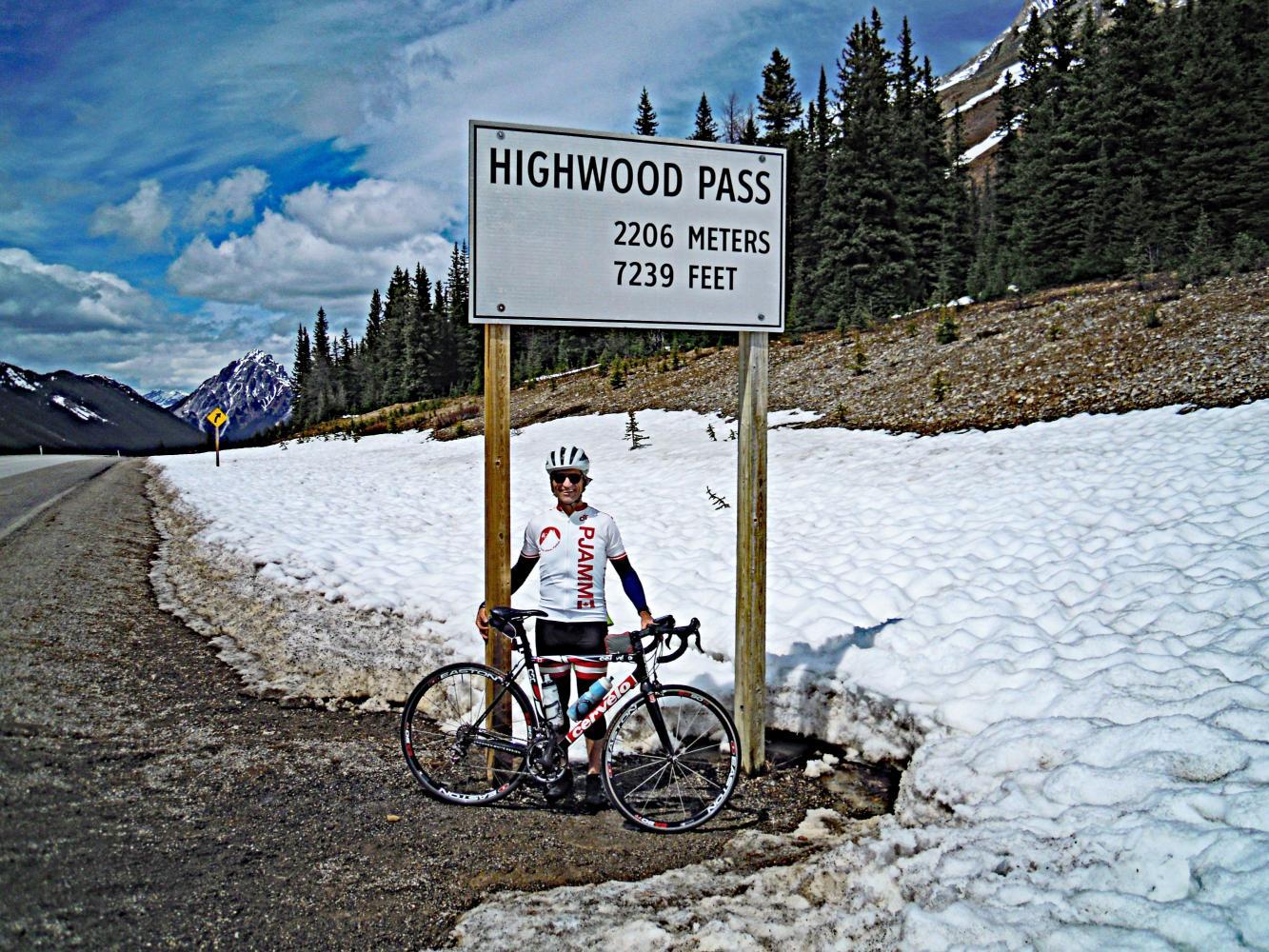 Highwood Pass North Bike Climb - PJAMM Cycling