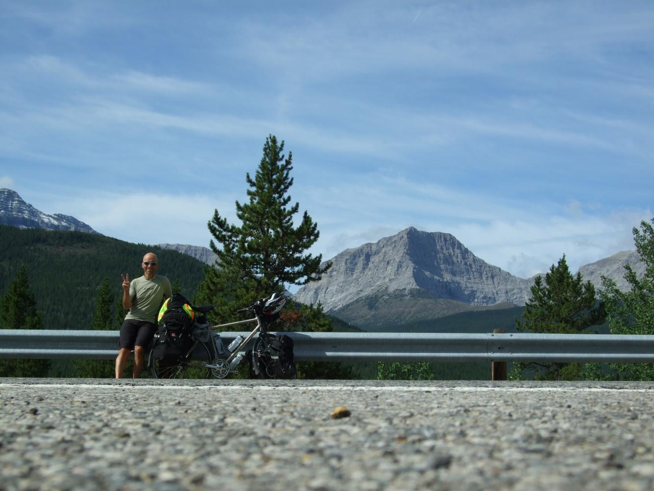 Highwood Pass South - PJAMM Cycling