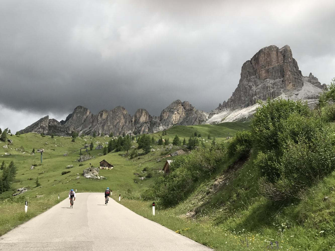 Passo Giau South Bike Climb - PJAMM Cycling