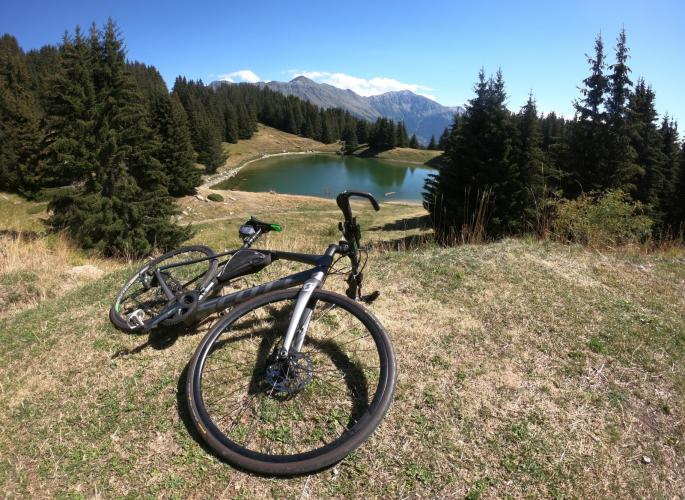 Lac de la Grande Léchère Bike Climb - PJAMM Cycling