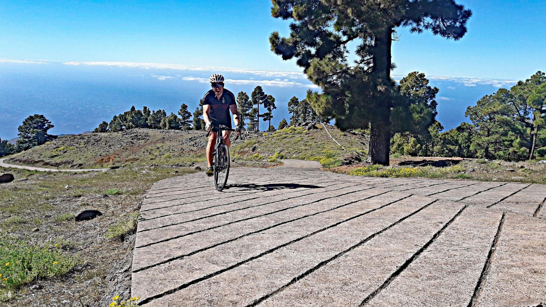 Cycling Climb - Llano de las Animas - Spain, Canarias
