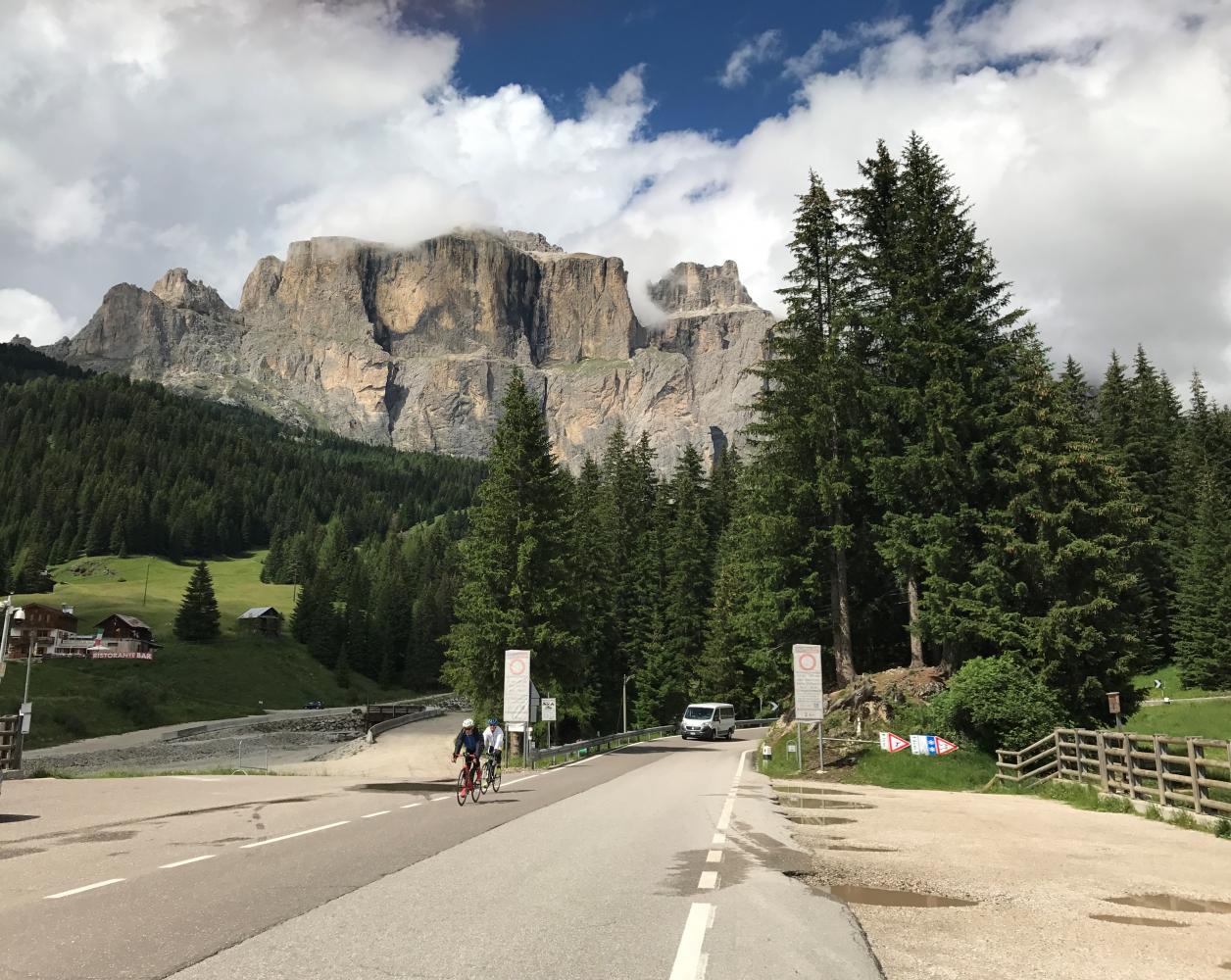 Passo Pordoi -Canazei Bike Climb - PJAMM Cycling
