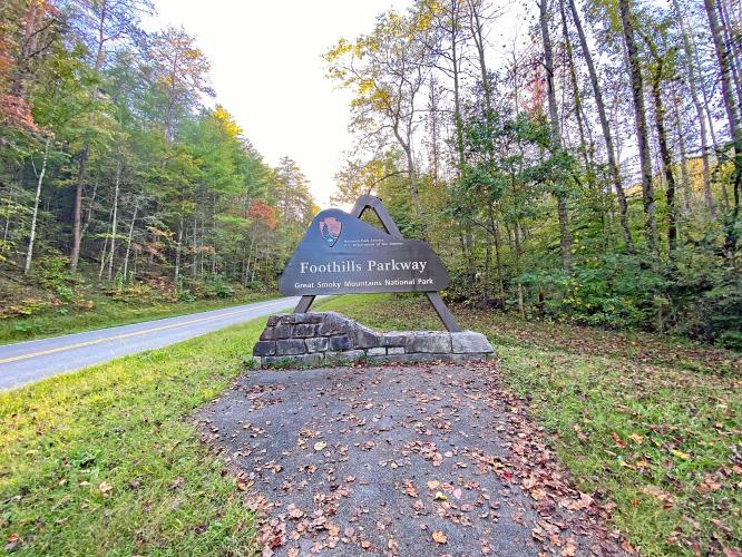 Foothills Parkway (Chilhowee) Bike Climb - PJAMM Cycling