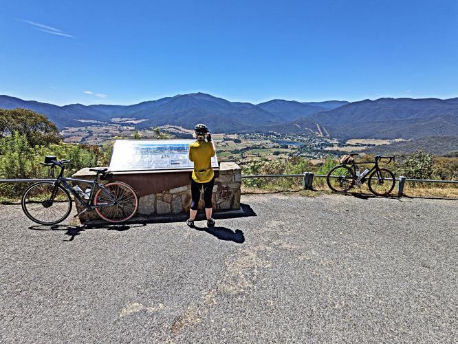 Tawonga Gap East Bike Climb - PJAMM Cycling