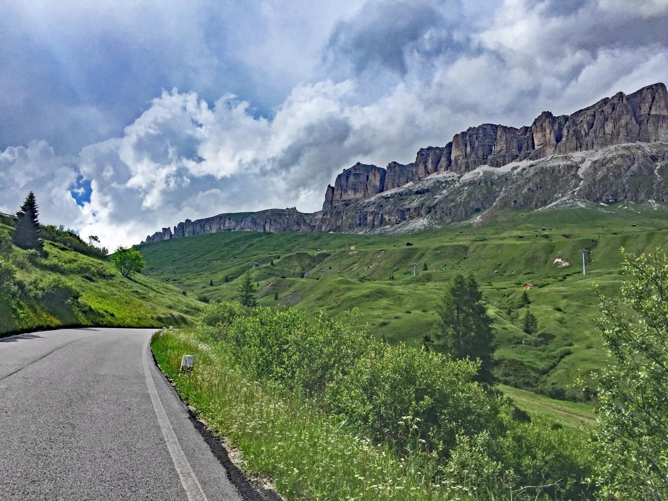 Passo Pordoi -Arabba Bike Climb - PJAMM Cycling