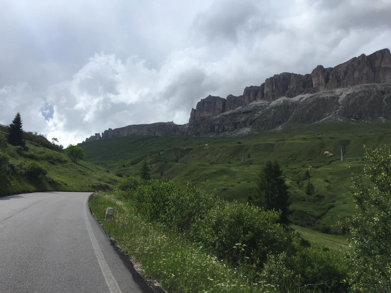 Passo Pordoi -Arabba Bike Climb - PJAMM Cycling