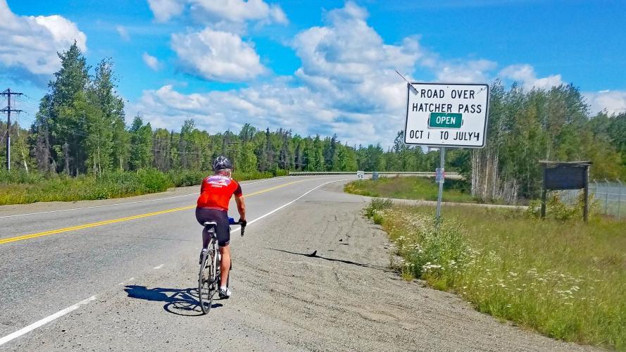 Hatcher Pass West Bike Climb - PJAMM Cycling