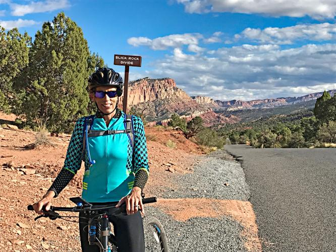 Capitol Reef Scenic Dr South Bike Climb - PJAMM Cycling